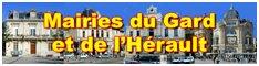 Mairies du Gard et de l'Hérault